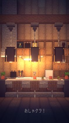 How to build Beautiful House - Minecraft Minecraft Kitchen Ideas, Easy Minecraft Houses, Minecraft Room, Minecraft Plans, Minecraft House Designs, Minecraft Decorations, Minecraft Blueprints, Minecraft Crafts, Minecraft Furniture