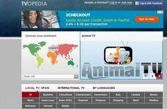 TVopedia es un enorme directorio de televisiones de todo el mundo que pueden verse online, directamente en una ventana de tu navegador.