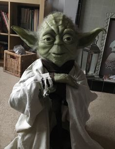 Star Wars Yoda 1/1 Prop Puppet Life Size Replica Figure Toy custom Jedi Bust Gift Jedi BB8 Force Awakens by ReelTimeReplicas on Etsy https://www.etsy.com/uk/listing/236154729/star-wars-yoda-11-prop-puppet-life-size