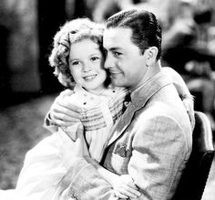 Shirley Temple and Robert Young in Stowaway, 1936.