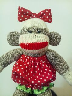 Ichigo the Sock Monkey #64 by Princess Monkey, via Flickr