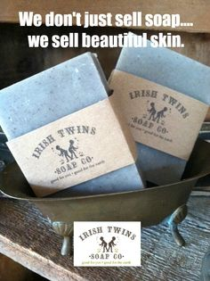 Dead Sea Mud Soap! #beautifulskin http://www.irishtwinssoaps.com/dead-sea-mud-soap/