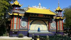 Pantomime Theater May 2016 Tivoli Gardens, Pantomime, Copenhagen, Denmark, Big Ben, Theater, Building, Travel, Viajes