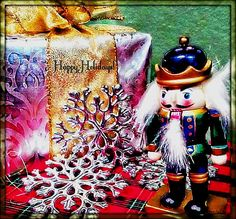 The Nutcracker. Perfect for a Christmas card