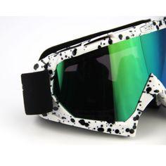 PU Resin Scratch Resistant Motocross Dirt Bike Wrap Goggles Ski Protective new