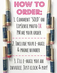 How to Order LipSense Distributer #411966 https://www.facebook.com/loveyourlipswithliza/