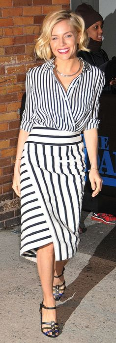 Sienna Miller - I pinned this on my own already because I love the look so much I am pinning this too!