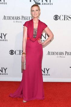 Cynthia Nixon in Carolina Herrera.