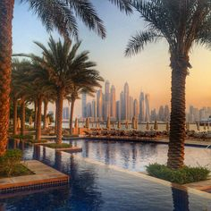 Staying on the Palm Islands of Dubai