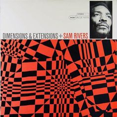 """Third track from Sam River's """"Dimensions and Extensions"""" album. Recorded on March 1967 at the Van Gelder Studio, Englewood Cliffs, New Jersey. Jazz Music, Jazz Art, Lp Cover, Vinyl Cover, Cover Art, Retro Lounge, Music Covers, Album Covers, Lps"""
