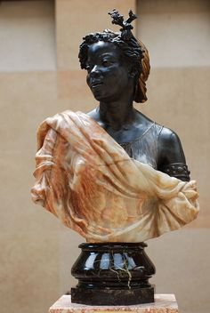 Capresse des colonies 1871 (musee d'Orsay) The artist is Charles Henri Joseph Cordier, a French sculptor who apparently focused on sculpting Africans. African American Art, African Art, African History, Monet, Art Afro, Coloured People, French Sculptor, Statues, Sculptures