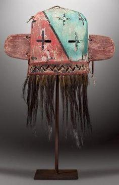 HIILILI - Masque Heaume Hilili - (Colton 185). HOPI, Arizona