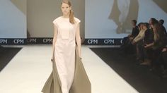ANNA KRUCHINKINA CPM Moscow Fall 2016 2017 by Fashion Channel http://www.youtube.com/watch?v=DrPtiBfxpbo #FashionChannel