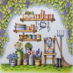 いいね!745件、コメント42件 ― @morena_vajakのInstagramアカウント: 「From Eriy's Romantic Country 1, Gardening Tools. I used Polys, Prismas, Lumis. How I love this…」