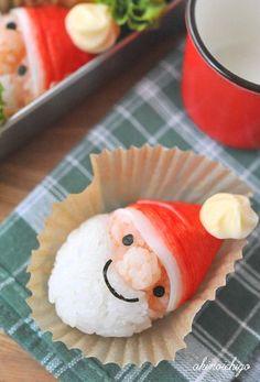 Cute Bento Boxes, Bento Box Lunch, Bento Recipes, Kids Menu, Xmas Food, Food Decoration, Xmas Crafts, Creative Food, Japanese Food