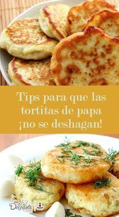 Como hacer tortitas de papa sin que se deshagan | CocinaDeliranteyto