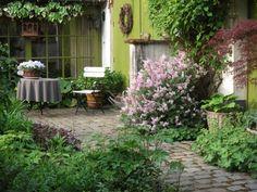 романтичный дизайн сада