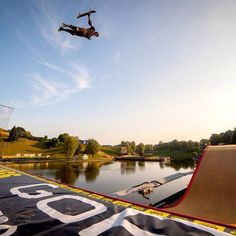 Now THAT is Big Air! Elliot Sloan throwing out a Christ Air at #XGAMES Munich