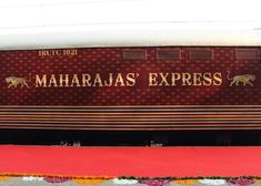 Maharajas' Express Marshall Speaker, Trains, Places To Visit, Luxury, Train