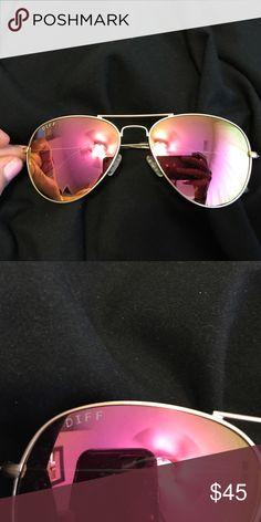 20b81d5be22 Pink diff eye wear sunglasses brand new never been worn Diff Eyewear  Accessories Sunglasses