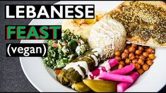 LAY HO MA everyone! Step aside Shawarma, this Lebanese inspired platter is much easier to make than y. Veggie Recipes, Salad Recipes, Vegetarian Recipes, Vegan Meals, Mediterranean Diet Meal Plan, Mediterranean Dishes, 21 Day Fix Meal Plan, Diet Meal Plans, Make Hummus