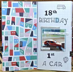 jehkotar: TN Spread: 18. birhday Ferret, Atc, Wish, Layouts, Studios, Notebook, Birthday, How To Make, Birthdays