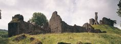 Okehampton Castle in Devon is supposedly one of the most haunted buildings in…