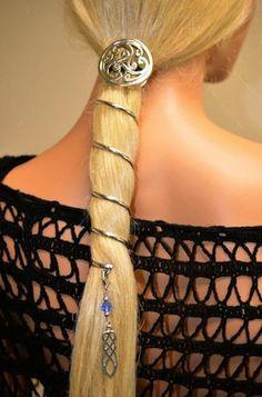 Hair Twisters Spiral Ponytail Holder Set seen at Renaissance Festivals