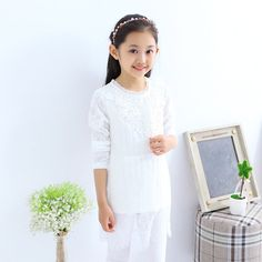 Cheap shirt, Buy Quality shirt sewing directly from China clothes wardrobe Suppliers: 2015 autumn new baby girls clothing sets pink Long-sleeved Cotton casual fashion clothes skirt Two-piece age 4-12 Y kids