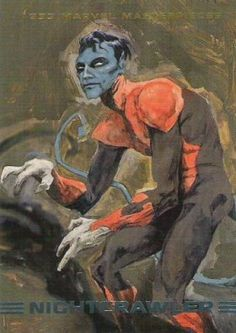Nightcrawler 1993 Marvel Masterpieces)
