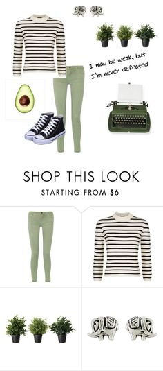 """""""Go green"""" by cant-find-a-username ❤ liked on Polyvore featuring Current/Elliott, Theory, Gap, Accessorize, LIST and Silver Lining"""