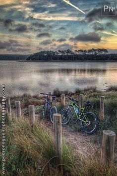 """Riding at dusk - 40,6 kms MTB Ride"" Mobile phone photography by Pedro Nogueira"