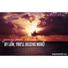 Giving doesn't mean losing.  By law, you'll receive more!
