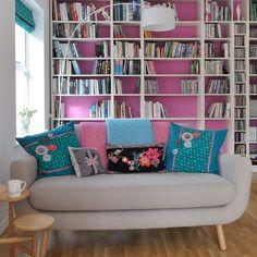 Pretty reading room!