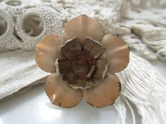 S O L D ! Vintage Drapery Tie Back Tack by beautifulliving on Etsy,