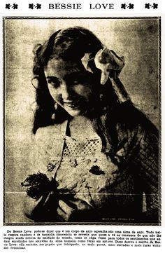 BESSIE LOVE - (PALCOS E TELAS, December 12, 1918, Rio de Janeiro, Brazil)