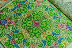 Secret Garden lily pond pattern