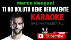 TI HO VOLUTO BENE VERAMENTE (Marco Mengoni) BASE KARAOKE Professionale +...
