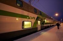 Tren nocturno finlandés de dos pisos
