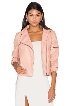 MINKPINK Deputy Jacket in Blush