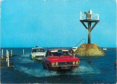 Noirmoutier (Vendée) - le passage du Gois on Flickr. Car : Opel Manta