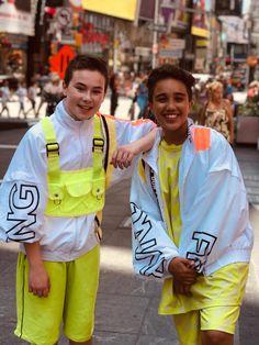 Kids Bop, Cool, Times Square, Rain Jacket, Windbreaker, Nyc, Stylists, Bedroom Ideas, Paradise