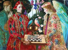 Chess competition by Olga Suvorova