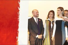 SS.MM. los Reyes Inauguración de la 34ª edición de la Feria Internacional de Arte Contemporáneo-ARCOmadrid IFEMA-Feria de Madrid. Parque Ferial Juan Carlos I. Madrid, 26.02.2015