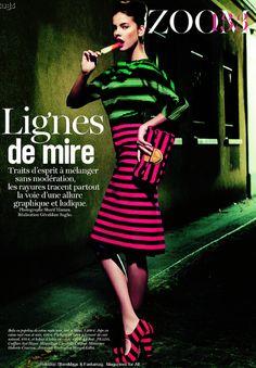 Barbara Palvin Vogue Paris
