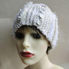 Luxury Ski Headband - Courchevel Modern Hippie, Handmade Headbands, Unique Cards, Ski, Stitches, Greeting Cards, Crochet Hats, Luxury, Stuff To Buy