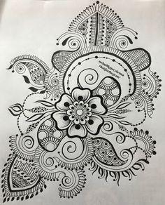 Week 1 challenge: @mehndikajoeyhenna thank you Joey for this weekly challenge its been very creative I was flown with the design! Thanks a ton! #joeydoitforthegram #doitforthegram #PBHenna #HennaTattoos #HennaDesign #HennaByMe #HennaCone #HennaLove #HennaArt #HennaArtist #LCHennaArtist #HennaCones #Doodles #NaturalHenna #practiceboard #practicehenna
