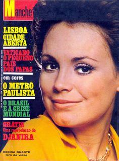 Astros em Revista: Regina Duarte nas capas das revistas Manchete e fatos & Fotos