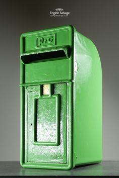 P&T Arched Back Irish Post Box