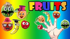 Finger Family Fruits | Finger Family Nursery Rhymes Collection Fruits Songs